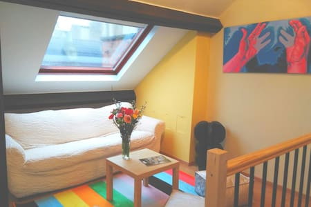 Under the roofs of Ixelles - Elsene - Apartment