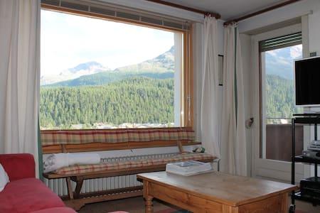 Celerina/Schlarigna 200m from skiing tracks! - Apartment