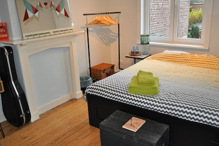 Cozy room for 2 in Ghent - Gent