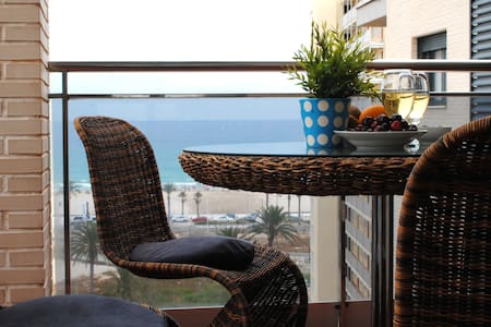 A cosy New apartment for 4 people at the Seafront - Appartement