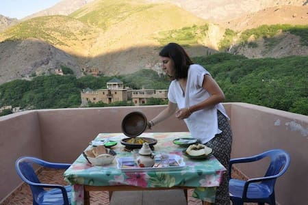 Gite panorama (chez l'habitent) - Imlil - Hus