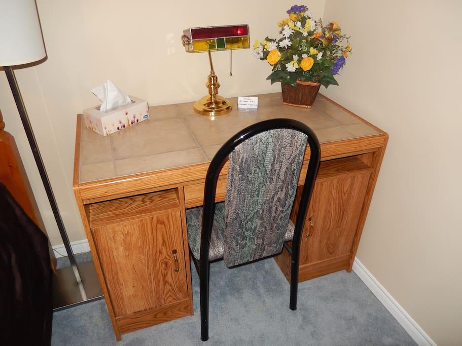 Bedroom Work Desk