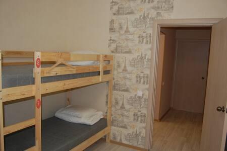Кровать в общем четырехместном номере - Wohnung