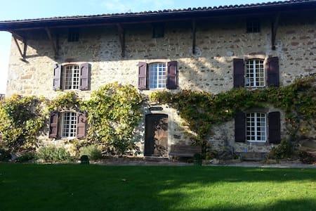 belle demeure en pierre du 17éme - Coise - Casa