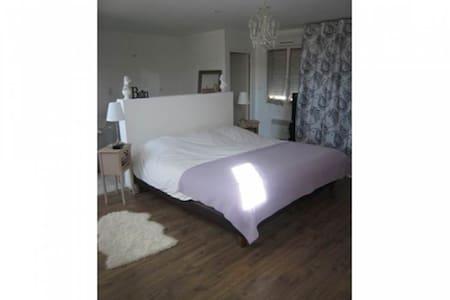 Chambre 40 m2 avec salle de bain et toilettes - Apartmen