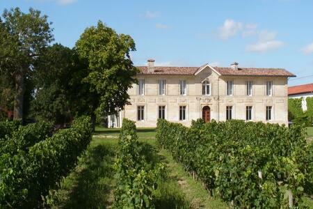 Propriété Familiale au cœur des vignes - Sainte-Eulalie