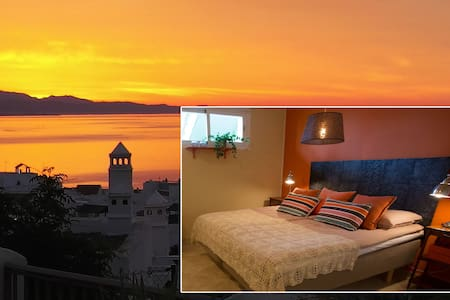 Orange room - Stunning view Costa del Sol - Pis