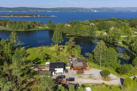 Cosy cabin by the lake in beautiful Spro, Nesodden - Kabin