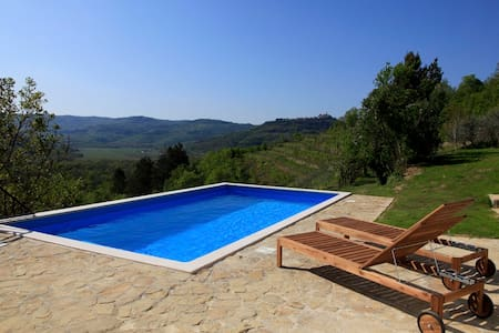 Peaceful Villa with breathetaking view - Livade - Villa