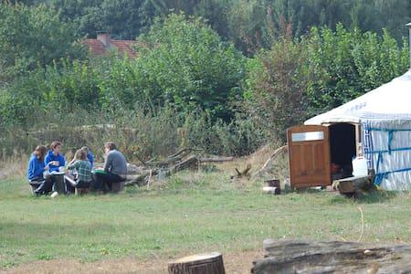 Overnachten in een Mongoolse tent - Afferden, Limburg