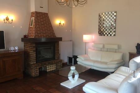 Chambre agréable 1 lit double - Anserville - Haus