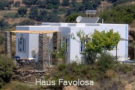ANDROS Kykladen Inselhaus Favolosa - strandnah - Andros - House