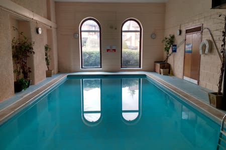 Flat in converted mill with pool - Dunblane - Apartamento
