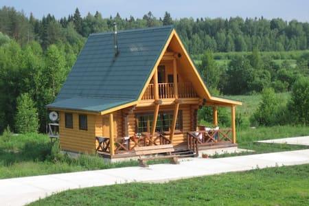 Новый дом у реки в сосновом лесу - Kochnevo - Rumah