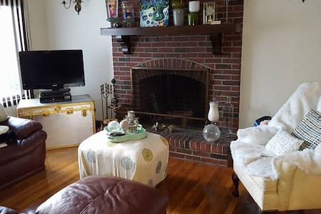 Cosy, Private Bedroom 10 minute walk to Tufts - Apartamento