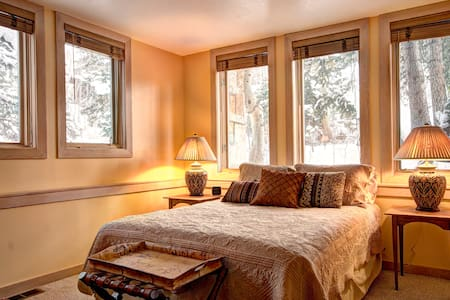 Deer Valley cozy QBR+private bath---On Ski Trail! - Xalet