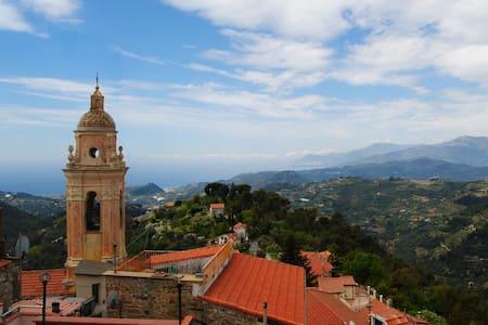Medieval Tower House in Seborga, Liguria - Townhouse