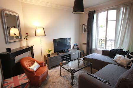 Appartement cosy and good vibes in Paris - Daire