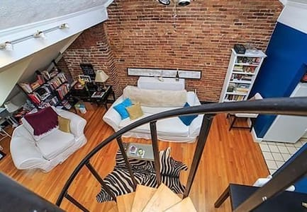 Lofty South End Apartment - Boston - Loft