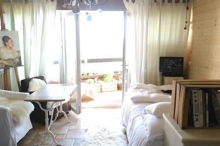 Studio cosy à la mer - Apartamento