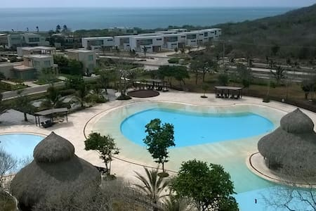 Luxury apartment, beach front condo, relaxing view - Juan de Acosta - Lejlighed