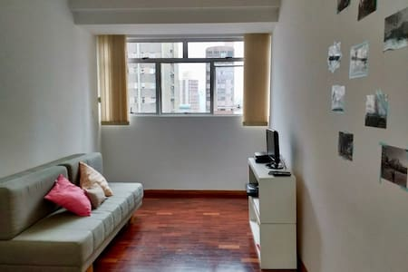Suíte no centro | Doble room in downtown - Belo Horizonte - Apartment