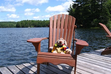 Maple Cottage - Private Cozy Lakeside Great View - Huntsville - Zomerhuis/Cottage