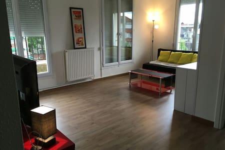 Spacieux appart  plein centre Ville - Valenciennes - Leilighet