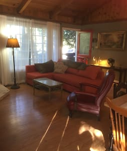BLUEFISH LAKESIDE CABIN STEPS FROM THE LAKE! WOW! - Green Valley Lake