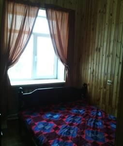 Изборск: Гостевой дом с озером и рыбой (Комната 1) - Guesthouse