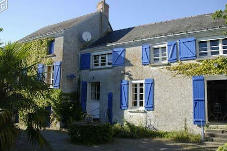Maison bord de Loire - Montjean-sur-Loire - House