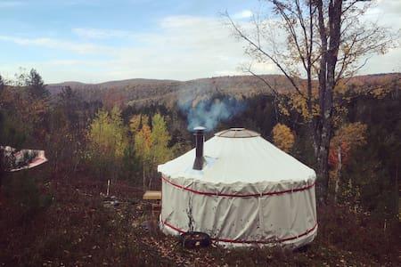 4 Season Lower Yurt Stay on VT Small Farm - Jurta