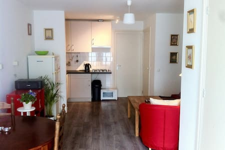 City centre apartment with double bed and sofa-bed - Leiden