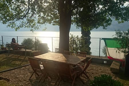 Family House directly to the Lake (Casa Tonini) - Bed & Breakfast