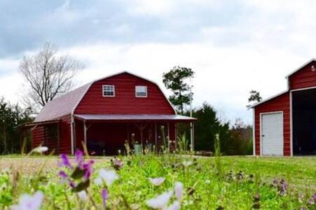 The Red Barn House - Gilmer - Casa