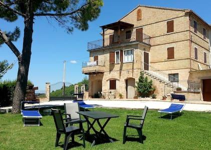 Farmhouse Galanti (Manu apartment) - Cossignano - Apartment