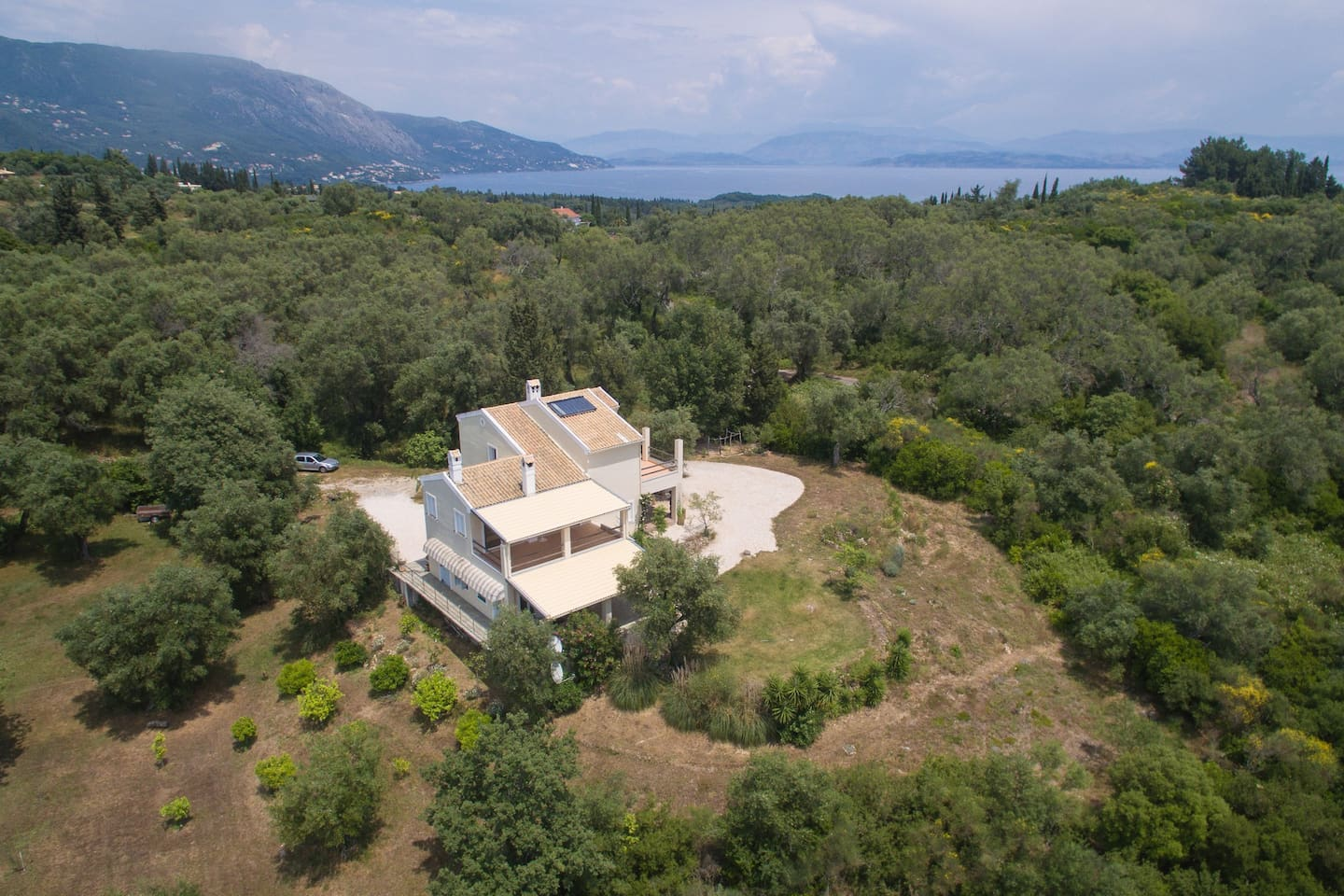 Holidays in an olive grove - Corfu