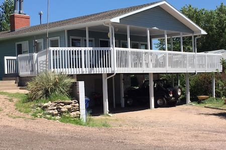 Lakeview home@ Lake McConaughy near Admiral's Cove - Lemoyne - House
