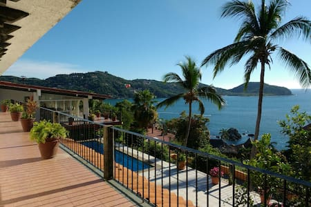 VISTA HERMOSA HOUSE, Room 4  (2 guests) - Zihuatanejo - Dom