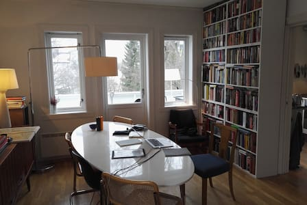 Charming and spacey, close to NTNU - Trondheim - Huoneisto