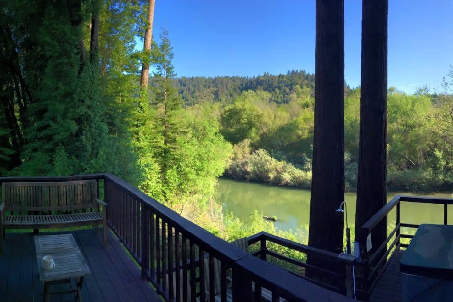 Pano view from rear deck