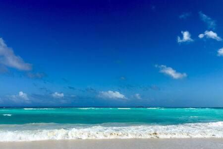 Beachfront Deluxe Suite, Ocean view, Orient Bay - Apartment