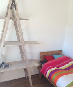 Madeley, near Keele,  M6 J15, A-Ladder Room - Rumah
