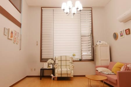 분당 오리역 1분 거리 24평 복층 오피스텔 - 성남시 - Apartment