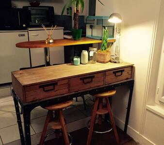 Charmant appartement cocooning - Paris 20ème - Lejlighed