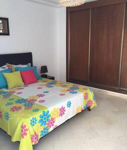 Bel Appart à Hammamet dans résidence avec piscine - Kondominium