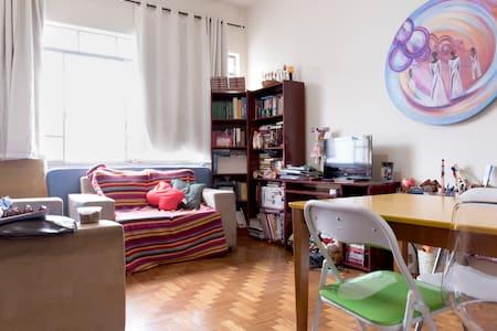Charme colorido no coração de BH! - Belo Horizonte - Lägenhet