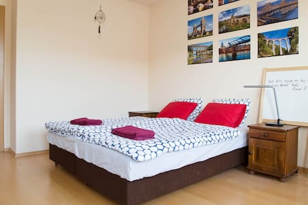 Near Old town, bus station, shops & restaurants - Bratislava - Daire