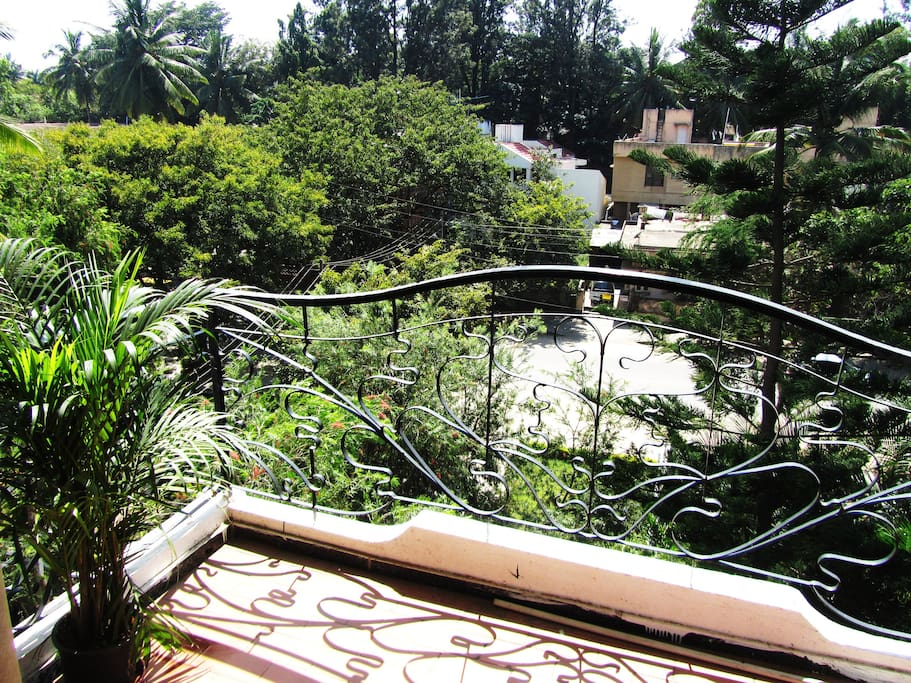 Your private balcony views