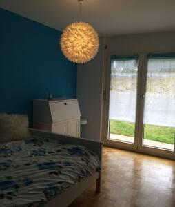 Jolie chambre accès direct jardin - Saint-Prex - Wohnung